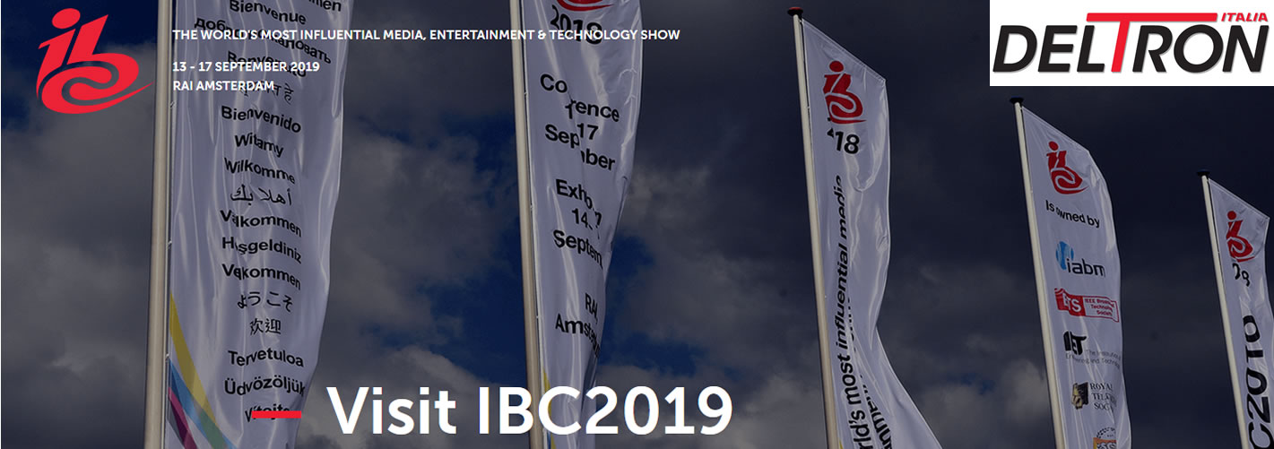 Immagine per IBC 2019 - world's leading media, entertainment and technology show
